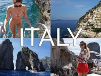 Positano, Capri, Amalfi Coast & Ravello | Italy Travel Vlog