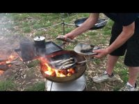 Rainbow Trout Catch And Cook On The Campfire How To With Biji Barbie DJI & HDVCS