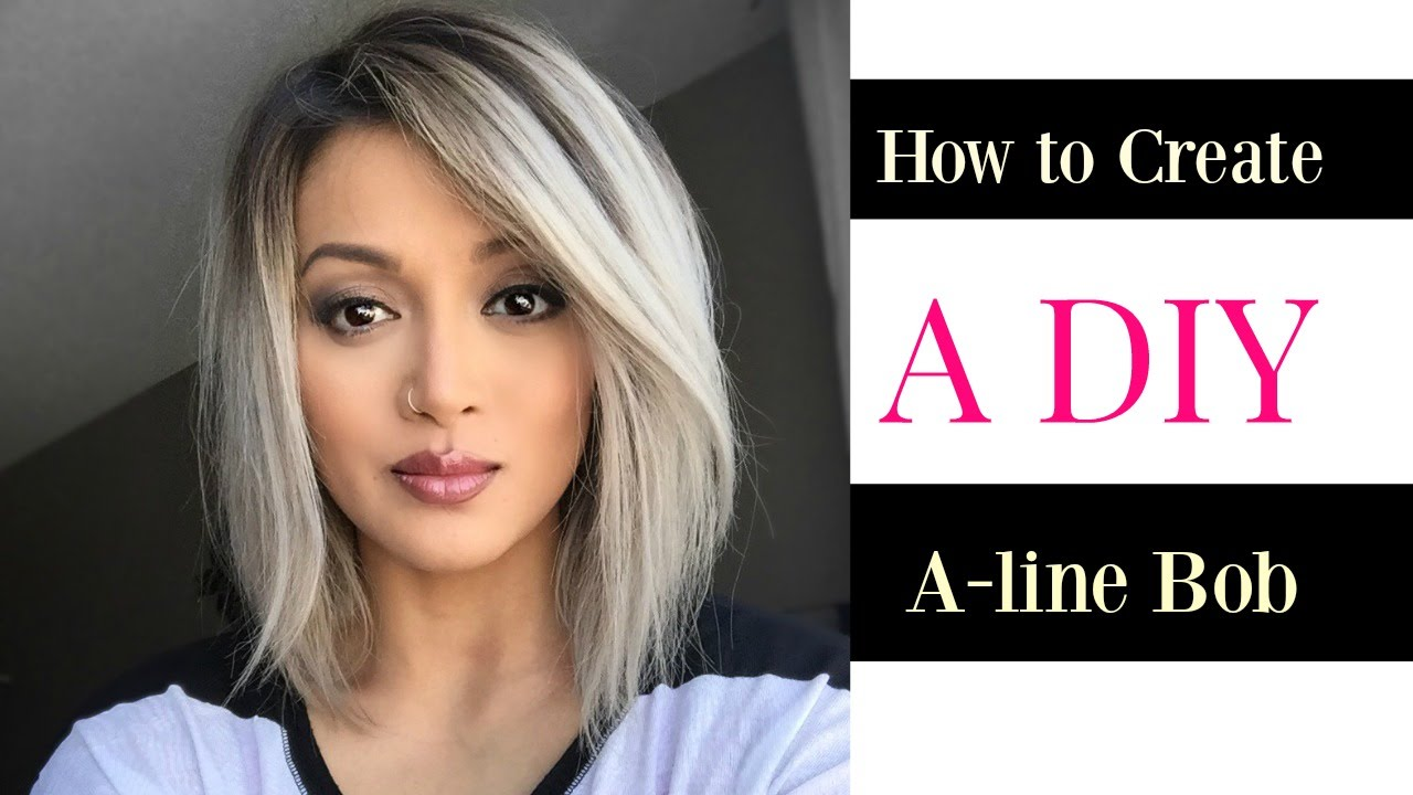 How to Create a DIY A-line Bob cut » E-traveling - good times with ...